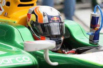 World © Octane Photographic Ltd. Friday Friday 5th September 2014. GP2 Practice – Italian GP - Monza, Italy. Pierre Gasly - EQ8 Caterham Racing. Digital Ref : 1095CB7D9056