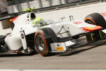 World © Octane Photographic Ltd. Friday Friday 5th September 2014. GP2 Practice – Italian GP - Monza, Italy. Kimiya Sato - Campos Racing. Digital Ref : 1095CB7D9090