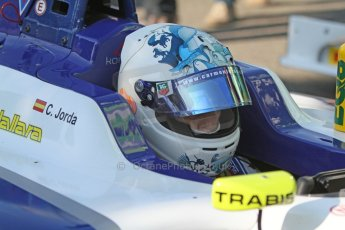World © Octane Photographic Ltd. Saturday 6th September 2014. GP3 Qualifying Session, Italian GP, Monza - Italy. Carmen Jorda - Koiranen GP. Digital Ref : 1103CB7D9836