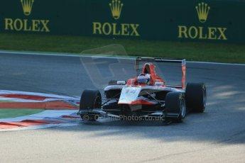 World © Octane Photographic Ltd. Saturday 6th September 2014. GP3 Race 1, Italian GP, Monza - Italy. Patrick Kujala - Marussia Manor Racing. Digital Ref : 1108LB1D6406