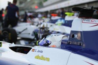 World © Octane Photographic Ltd. Sunday 7th September 2014. GP3 Race 2, Italian GP, Monza - Italy. Carmen Jorda - Koiranen GP. Digital Ref : 1110CB7D0493