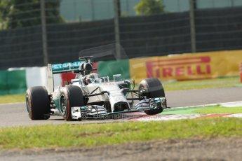 World © Octane Photographic Ltd. Friday 3rd October 2014, Japanese Grand Prix - Suzuka. - Formula 1 Practice 2. Mercedes AMG Petronas F1 W05 Hybrid - Lewis Hamilton. Digital Ref: