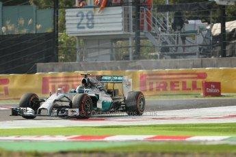 World © Octane Photographic Ltd. Friday 3rd October 2014, Japanese Grand Prix - Suzuka. - Formula 1 Practice 2. Mercedes AMG Petronas F1 W05 Hybrid - Nico Rosberg. Digital Ref: