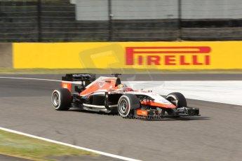 World © Octane Photographic Ltd. Saturday 4th October 2014, Japanese Grand Prix - Suzuka. - Formula 1 Qualifying. Marussia F1 Team MR03 - Jules Bianchi. Digital Ref:
