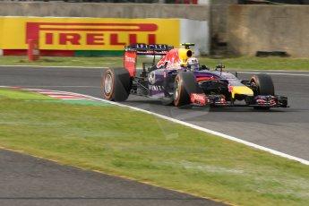 World © Octane Photographic Ltd. Saturday 4th October 2014, Japanese Grand Prix - Suzuka. - Formula 1 Qualifying. Infiniti Red Bull Racing RB10 – Daniel Ricciardo. Digital Ref: