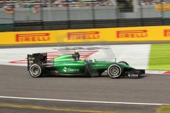 World © Octane Photographic Ltd. Saturday 4th October 2014, Japanese Grand Prix - Suzuka. - Formula 1 Qualifying. Caterham F1 Team CT05 – Marcus Ericsson. Digital Ref: