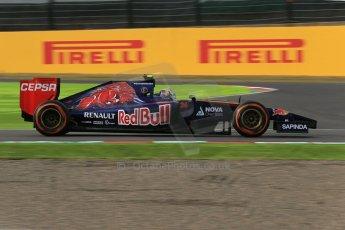 World © Octane Photographic Ltd. Saturday 4th October 2014, Japanese Grand Prix - Suzuka. - Formula 1 Qualifying. Scuderia Toro Rosso STR 9 – Daniil Kvyat. Digital Ref: