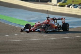 World © Octane Photographic Ltd. 2014 Formula 1 Winter Testing, Circuito de Velocidad, Jerez. Tuesday 28th January 2014. Day 1. Scuderia Ferrari F14T – Kimi Raikkonen. Digital Ref: 0882cb1d9327
