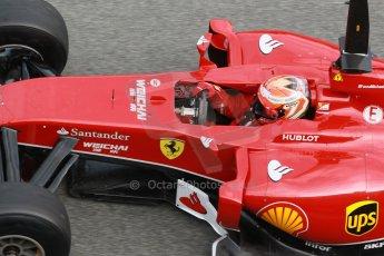 World © Octane Photographic Ltd. 2014 Formula 1 Winter Testing, Circuito de Velocidad, Jerez. Tuesday 28th January 2014. Day 1. Scuderia Ferrari F14T – Kimi Raikkonen. Digital Ref: 0882cb1d9579