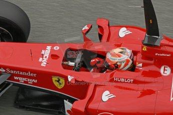 World © Octane Photographic Ltd. 2014 Formula 1 Winter Testing, Circuito de Velocidad, Jerez. Tuesday 28th January 2014. Day 1. Scuderia Ferrari F14T – Kimi Raikkonen. Digital Ref: 0882cb1d9645