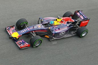 World © Octane Photographic Ltd. 2014 Formula 1 Winter Testing, Circuito de Velocidad, Jerez. Tuesday 28th January 2014. Day 1. Infiniti Red Bull Racing RB10 - Sebastian Vettel. Digital Ref: 0882cb1d9744