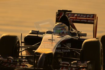 World © Octane Photographic Ltd. 2014 Formula 1 Winter Testing, Circuito de Velocidad, Jerez. Tuesday 28th January 2014. Day 1. Scuderia Toro Rosso STR9 - Jean-Eric Vergne. Digital Ref: 0882lb1d0104