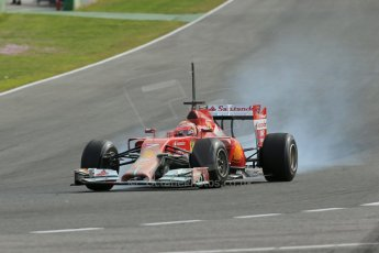 World © Octane Photographic Ltd. 2014 Formula 1 Winter Testing, Circuito de Velocidad, Jerez. Tuesday 28th January 2014. Day 1. Scuderia Ferrari F14T – Kimi Raikkonen. Digital Ref: 0882lb1d0385