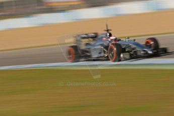 World © Octane Photographic Ltd. 2014 Formula 1 Winter Testing, Circuito de Velocidad, Jerez. Thursday 30th January 2014. Day 3. McLaren Mercedes MP4/29 – Kevin Magnussen. Digital Ref: 0887cb1d1197