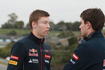 World © Octane Photographic Ltd. 2014 Formula 1 Winter Testing, Circuito de Velocidad, Jerez. Friday 31st January 2014. Day 4. Scuderia Toro Rosso STR 9 – Daniil Kvyat. Digital Ref: 0888cb1d1613