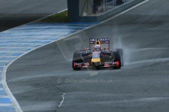 World © Octane Photographic Ltd. 2014 Formula 1 Winter Testing, Circuito de Velocidad, Jerez. Friday 31st January 2014. Day 4. Infiniti Red Bull Racing RB10 – Daniel Ricciardo. Digital Ref: 0888lb1d2949