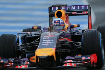 World © Octane Photographic Ltd. 2014 Formula 1 Winter Testing, Circuito de Velocidad, Jerez. Friday 31st January 2014. Day 4. Infiniti Red Bull Racing RB10 – Daniel Ricciardo. Digital Ref: 0888lb1d2962