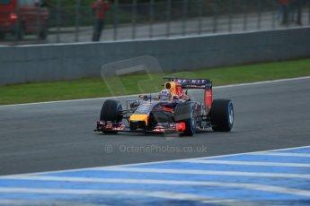 World © Octane Photographic Ltd. 2014 Formula 1 Winter Testing, Circuito de Velocidad, Jerez. Friday 31st January 2014. Day 4. Infiniti Red Bull Racing RB10 – Daniel Ricciardo. Digital Ref: 0888lb1d2994