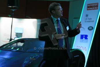 World © Octane Photographic Ltd. Motorsport Industry Association 8th International Low Carbon Racing Conference at Autosport International 2014 in association with Dell. Wednesday 8th January 2014. Paul Newsome: Chief Technical Officer (Williams Advanced Engineering). Digital Ref :