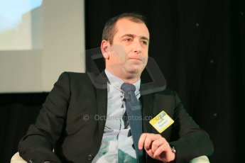 World © Octane Photographic Ltd. Motorsport Industry Association 8th International Low Carbon Racing Conference at Autosport International 2014 in association with Dell. Wednesday 8th January 2014. Vincent Beaumesnil: Sporting Director (ACO). Digital Ref :
