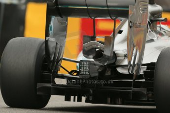 World © Octane Photographic Ltd. Thursday 22nd May 2014. Monaco - Monte Carlo - Formula 1 Practice 1. Mercedes AMG Petronas F1 W05 Hybrid – Lewis Hamilton. Digital Ref: 0958LB1D3429