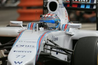 World © Octane Photographic Ltd. Thursday 22nd May 2014. Monaco - Monte Carlo - Formula 1 Practice 1. Williams Martini Racing FW36 – Valtteri Bottas Digital Ref: 0958LB1D3745