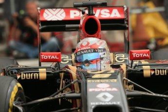World © Octane Photographic Ltd. Thursday 22nd May 2014. Monaco - Monte Carlo - Formula 1 Practice 1. Lotus F1 Team E22 - Romain Grosjean. Digital Ref: 0958LB1D3785
