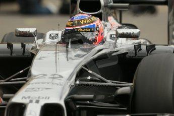 World © Octane Photographic Ltd. Thursday 22nd May 2014. Monaco - Monte Carlo - Formula 1 Practice 1. McLaren Mercedes MP4/29 - Jenson Button. Digital Ref: 0958LB1D3997