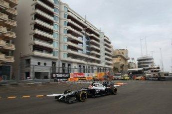 World © Octane Photographic Ltd. Thursday 22nd May 2014. Monaco - Monte Carlo - Formula 1 Practice 1. McLaren Mercedes MP4/29 - Jenson Button. Digital Ref: 0958LB1D6411