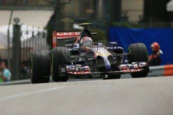 World © Octane Photographic Ltd. Thursday 22nd May 2014. Monaco - Monte Carlo - Formula 1 Practice 2. Scuderia Toro Rosso STR 9 – Daniil Kvyat. Digital Ref: 0960LB1D4617