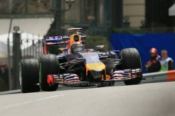 World © Octane Photographic Ltd. Thursday 22nd May 2014. Monaco - Monte Carlo - Formula 1 Practice 2. Infiniti Red Bull Racing RB10 - Sebastian Vettel. Digital Ref: 0960LB1D4669