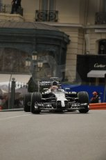 World © Octane Photographic Ltd. Thursday 22nd May 2014. Monaco - Monte Carlo - Formula 1 Practice 2. McLaren Mercedes MP4/29 - Jenson Button. Digital Ref: 0960LB1D6580