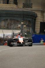 World © Octane Photographic Ltd. Thursday 22nd May 2014. Monaco - Monte Carlo - Formula 1 Practice 2. Marussia F1 Team MR03 - Max Chilton. Digital Ref: 0960LB1D6595