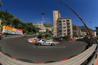 World © Octane Photographic Ltd. Saturday 24th May 2014. Monaco - Monte Carlo - Formula 1 Practice 3. FIA Safety and Medical cars (Mercedes SLS AMG and AMG C63 Estate). Digital Ref: 0965LB1D6792