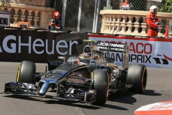 World © Octane Photographic Ltd. Saturday 24th May 2014. Monaco - Monte Carlo - Formula 1 Practice 3. McLaren Mercedes MP4/29 – Kevin Magnussen. Digital Ref: 0965LB1D7296
