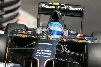 World © Octane Photographic Ltd. Saturday 24th May 2014. Monaco - Monte Carlo - Formula 1 Practice 3. Sauber C33 - Esteban Gutierrez. Digital Ref: 0965LB1D7520