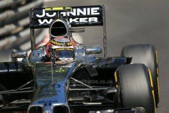 World © Octane Photographic Ltd. Saturday 24th May 2014. Monaco - Monte Carlo - Formula 1 Practice 3. McLaren Mercedes MP4/29 – Kevin Magnussen. Digital Ref: 0965LB1D7537