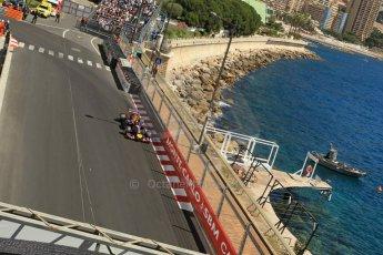 World © Octane Photographic Ltd. Saturday 24th May 2014. Monaco - Monte Carlo - Formula 1 Practice 3. Infiniti Red Bull Racing RB10 - Sebastian Vettel. Digital Ref: 0965LB1DX7810