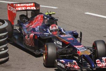 World © Octane Photographic Ltd. Saturday 24th May 2014. Monaco - Monte Carlo - Formula 1 Qualifying. Scuderia Toro Rosso STR 9 – Daniil Kvyat. Digital Ref: 0967CB7D3246