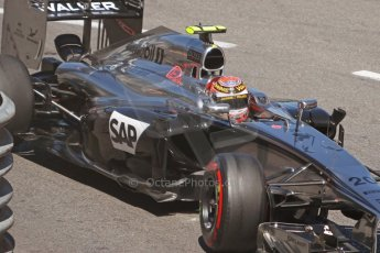 World © Octane Photographic Ltd. Saturday 24th May 2014. Monaco - Monte Carlo - Formula 1 Qualifying. McLaren Mercedes MP4/29 – Kevin Magnussen. Digital Ref: 0967CB7D3254