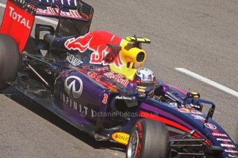 World © Octane Photographic Ltd. Saturday 24th May 2014. Monaco - Monte Carlo - Formula 1 Qualifying. Infiniti Red Bull Racing RB10 – Daniel Ricciardo. Digital Ref: 0967CB7D3262