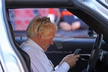 World © Octane Photographic Ltd. Saturday 24th May 2014. Monaco - Monte Carlo - Formula 1 Qualifying. FIA's Charlie Whiting. Digital Ref: 0967CB7D3374