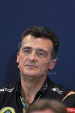 World © Octane Photographic Ltd. Thursday 22nd May 2014. Monaco - Monte Carlo - Formula 1 Press conference. Lotus F1 Team Deputy Team Principle- Federico Gastaldi. Digital Ref: 0961LB1D4754