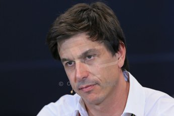 World © Octane Photographic Ltd. Thursday 22nd May 2014. Monaco - Monte Carlo - Formula 1 Press conference. Mercedes AMG Petronas F1 Executive Director - Toto Wolff. Digital Ref: 0961LB1D4817