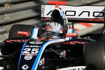 World © Octane Photographic Ltd. World Series by Renault 3.5 - Monaco, Monte Carlo, May 24th 2014 - Qualifying. Pons Racing – Robert Visoiu. Digital Ref : 0966LB1D6611