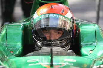 World © Octane Photographic Ltd. Friday 23rd May 2014. GP2 Feature Race – Monaco, Monte Carlo. Alexander Rossi - EQ8 Caterham Racing. Digital Ref : 0963CB7D2778
