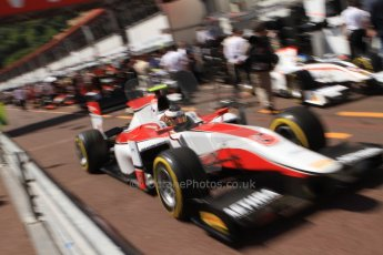 World © Octane Photographic Ltd. Friday 23rd May 2014. GP2 Feature Race – Monaco, Monte Carlo. Stoffel Vandoorne - ART Grand Prix. Digital Ref : 0963CB7D5120