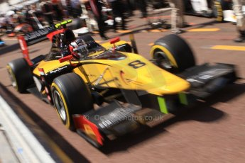 World © Octane Photographic Ltd. Friday 23rd May 2014. GP2 Feature Race – Monaco, Monte Carlo. Stephane Richelmi - DAMS. Digital Ref : 0963CB7D5123