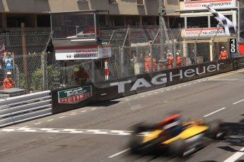 World © Octane Photographic Ltd. Friday 23rd May 2014. GP2 Feature Race – Monaco, Monte Carlo. Jolyon Palmer takes the win - DAMS. Digital Ref : 0963CB7D5346