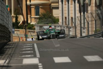 World © Octane Photographic Ltd. Friday 23rd May 2014. GP2 Feature Race – Monaco, Monte Carlo. Alexander Rossi - EQ8 Caterham Racing. Digital Ref : 0963LB1D6218